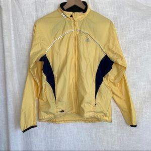 Yellow Adidas Windbreaker